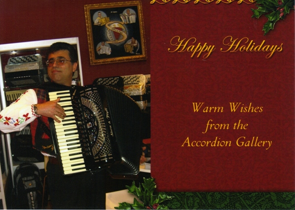 Accordion Gallery Greetings