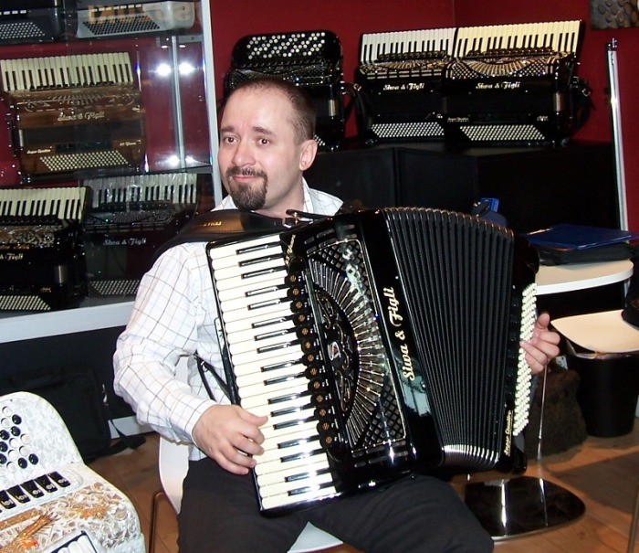 Goran Vorgic at Musikmesse 2010